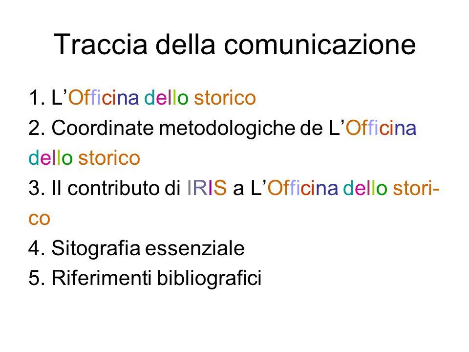 Traccia della comunicazione