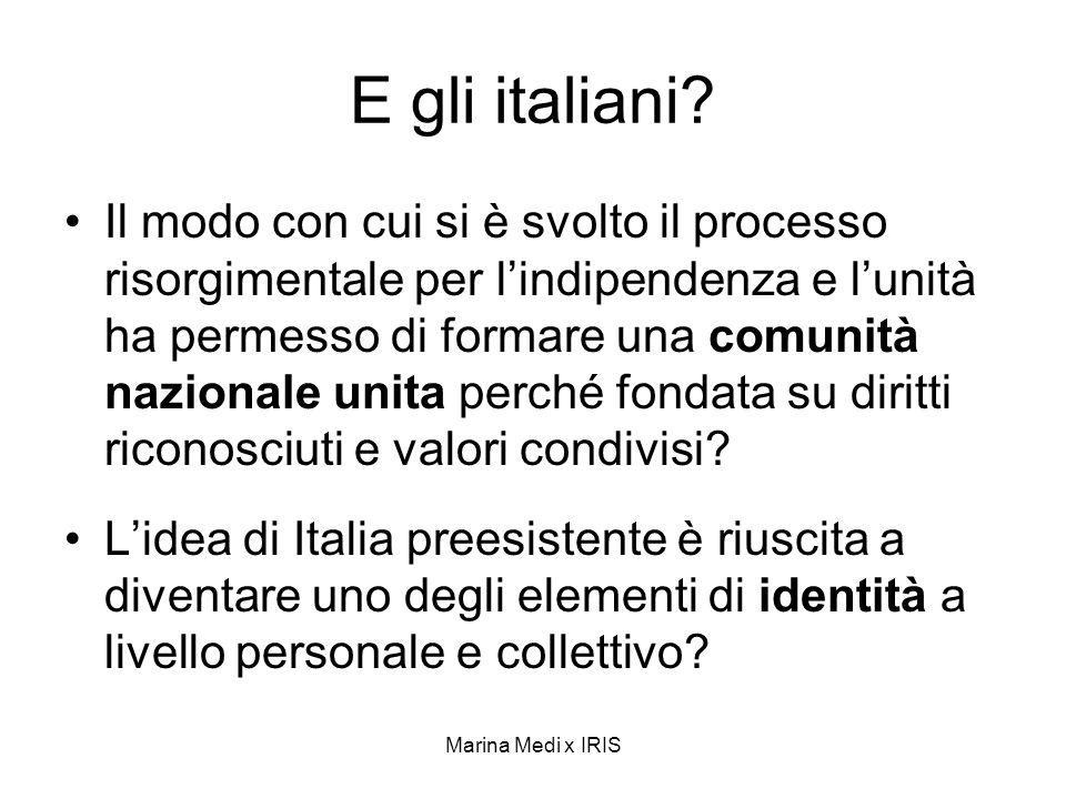E gli italiani