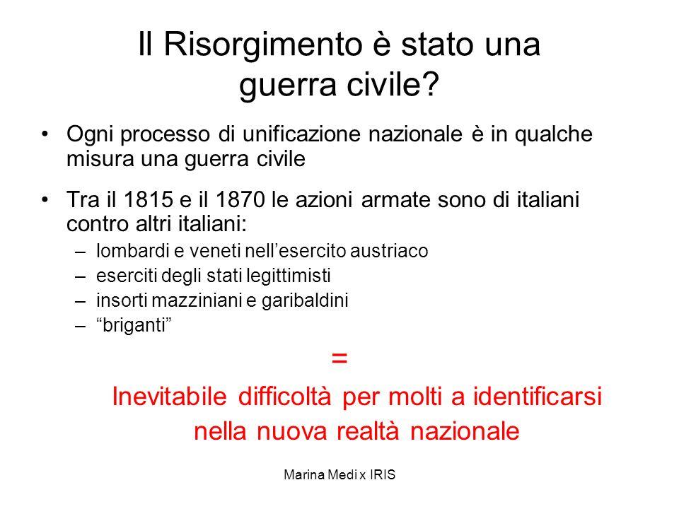 Il Risorgimento è stato una guerra civile