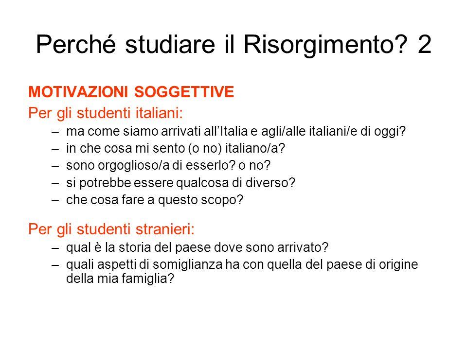 Perché studiare il Risorgimento 2