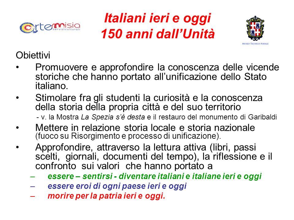 Italiani ieri e oggi 150 anni dall'Unità