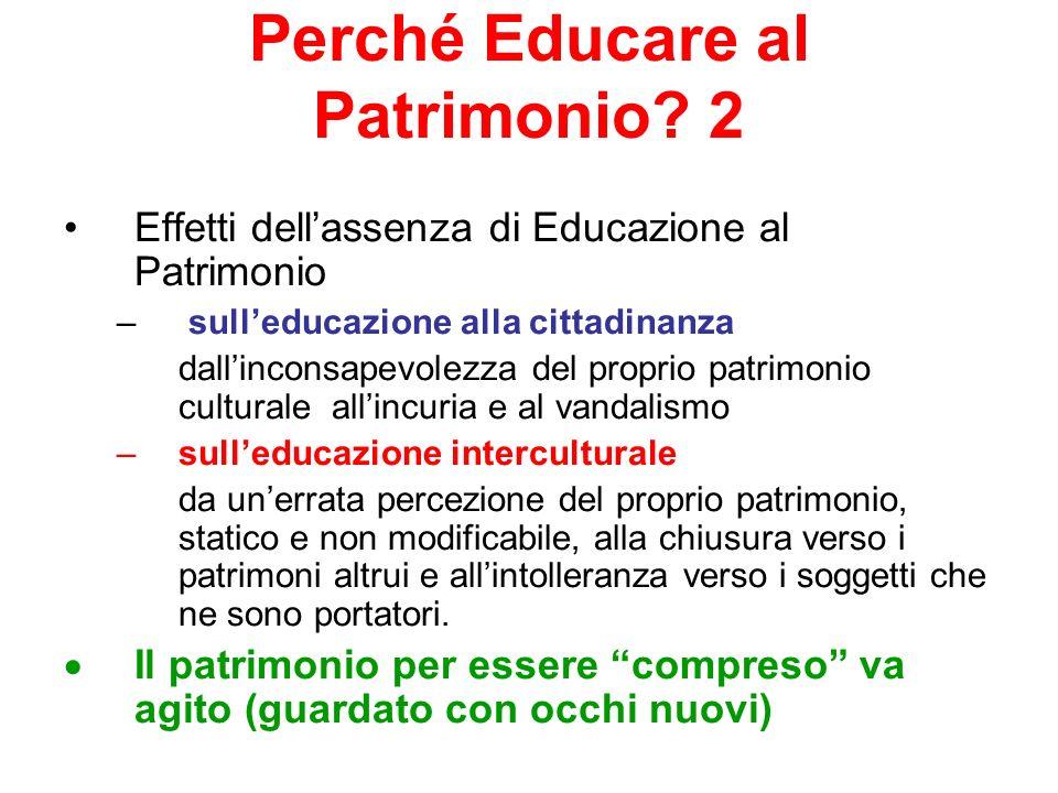 Perché Educare al Patrimonio 2