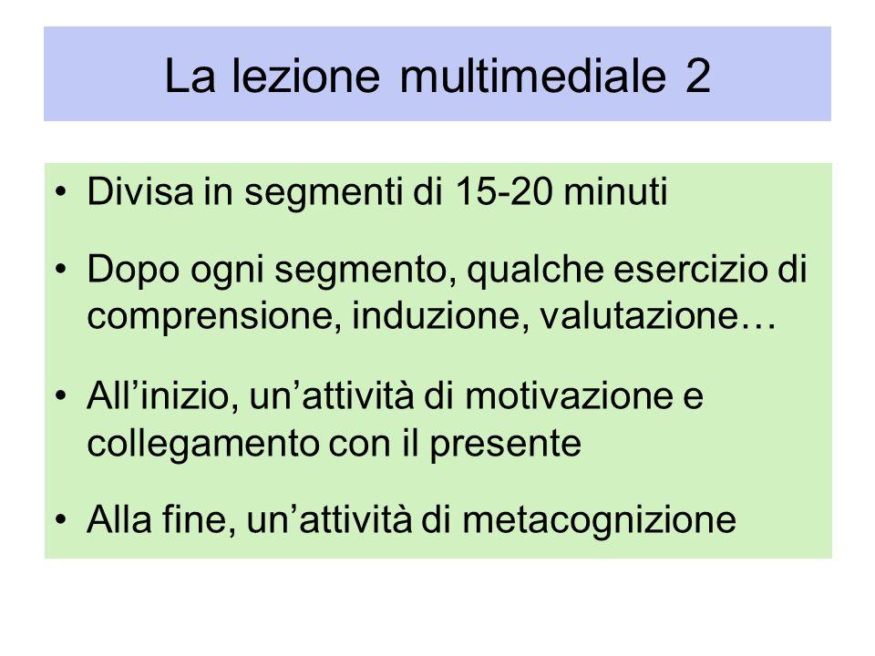 La lezione multimediale 2