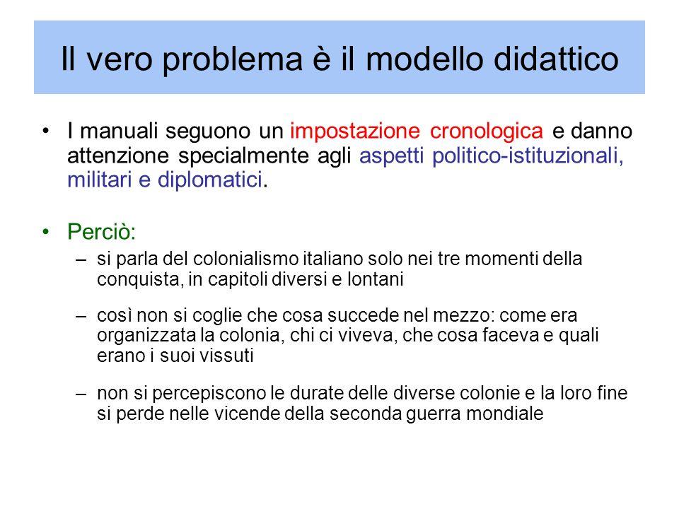 Il vero problema è il modello didattico