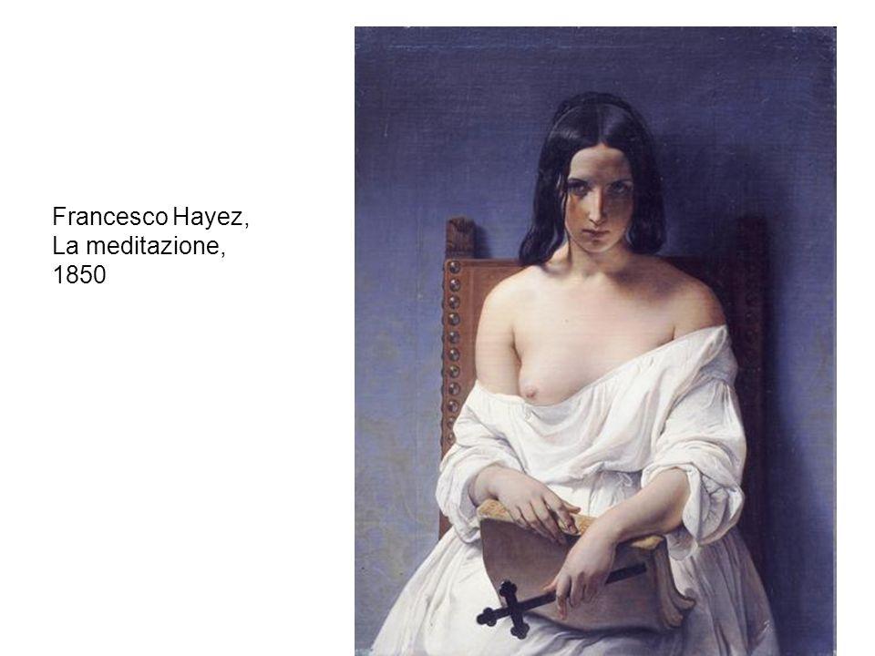 Francesco Hayez, La meditazione, 1850
