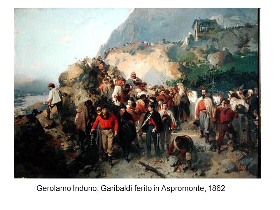 Gerolamo Induno, Garibaldi ferito in Aspromonte, 1862