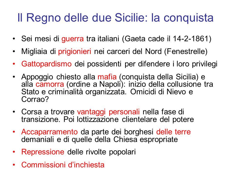 Il Regno delle due Sicilie: la conquista