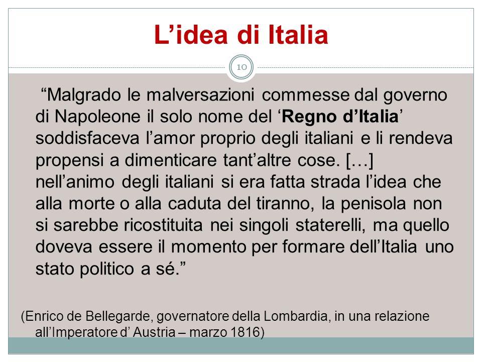 L'idea di Italia