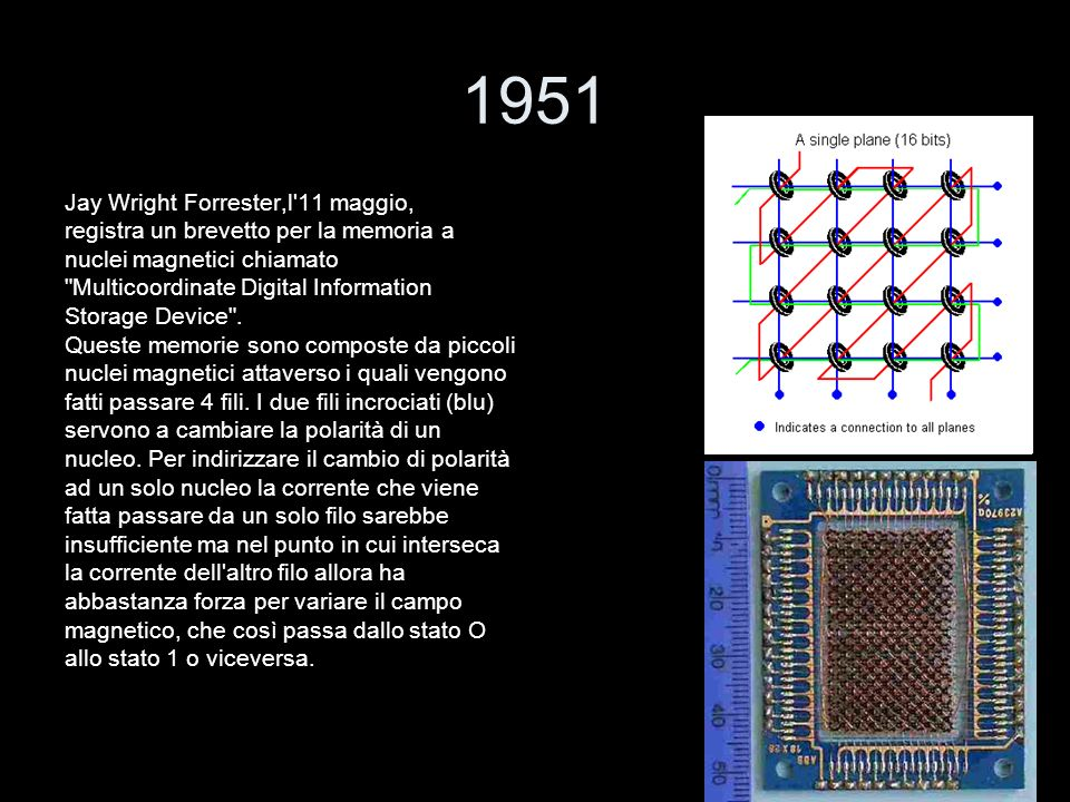 1951 Jay Wright Forrester,l 11 maggio,