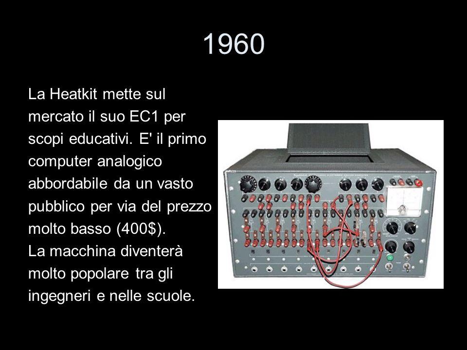 1960 La Heatkit mette sul mercato il suo EC1 per