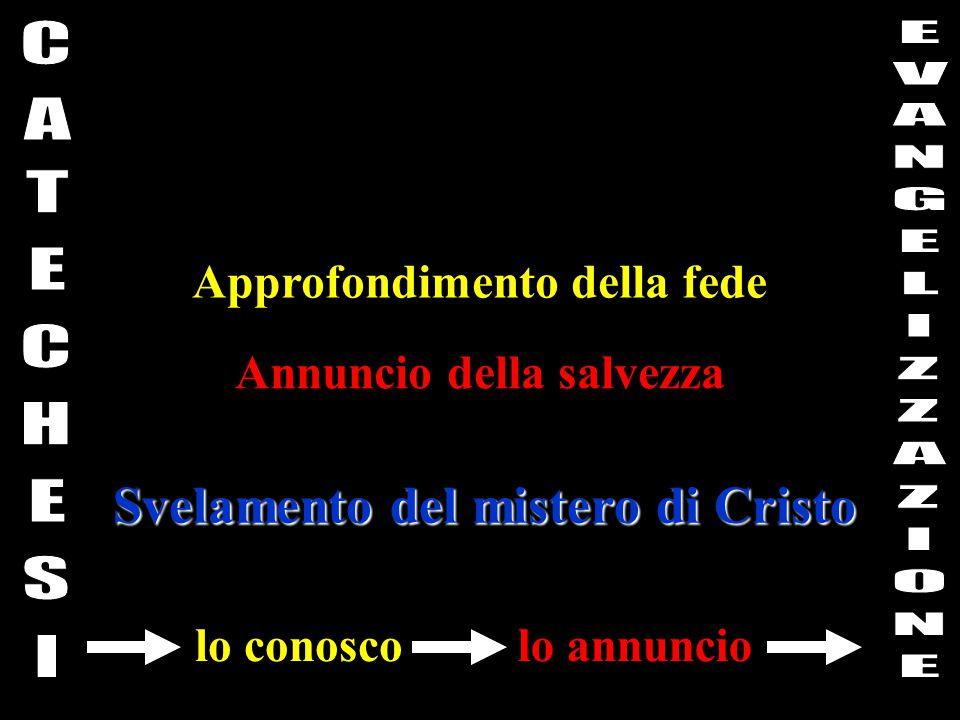 Svelamento del mistero di Cristo