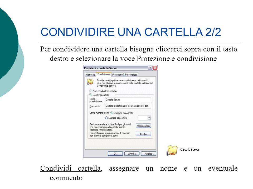 CONDIVIDIRE UNA CARTELLA 2/2