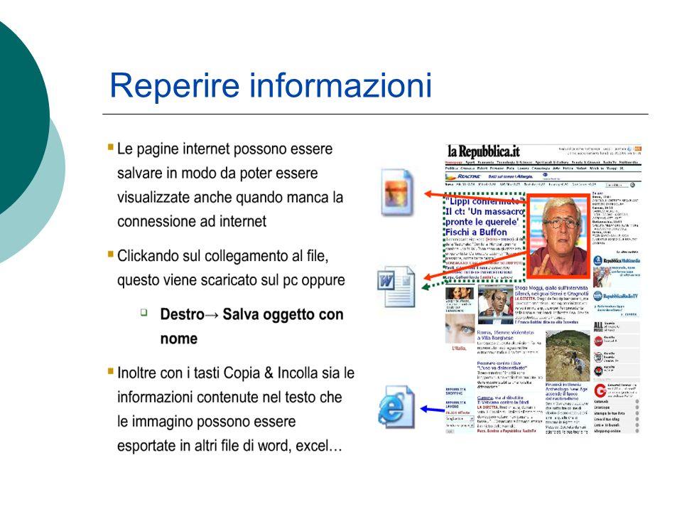 Reperire informazioni
