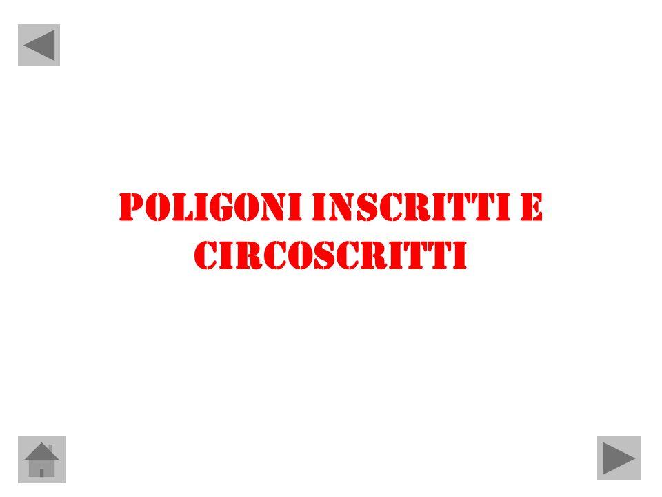 POLIGONI INSCRITTI E CIRCOSCRITTI
