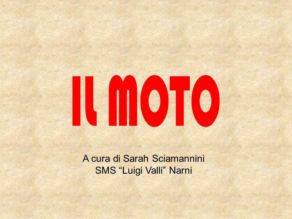 IL MOTO A cura di Sarah Sciamannini SMS Luigi Valli Narni