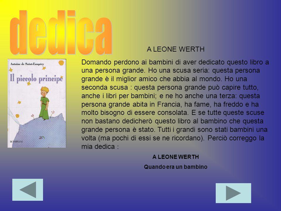 dedica A LEONE WERTH.