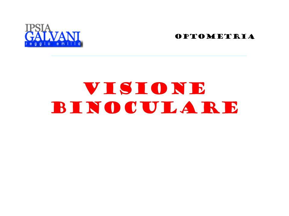 OPTOMETRIA VISIONE BINOCULARE