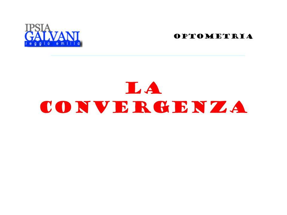 OPTOMETRIA La convergenza