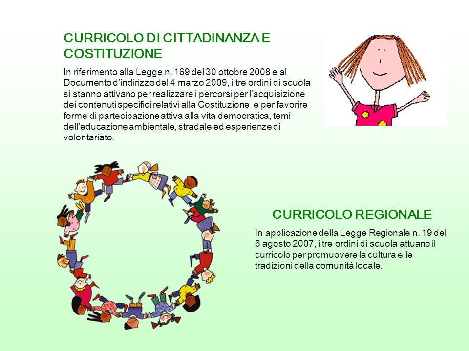 CURRICOLO DI CITTADINANZA E COSTITUZIONE