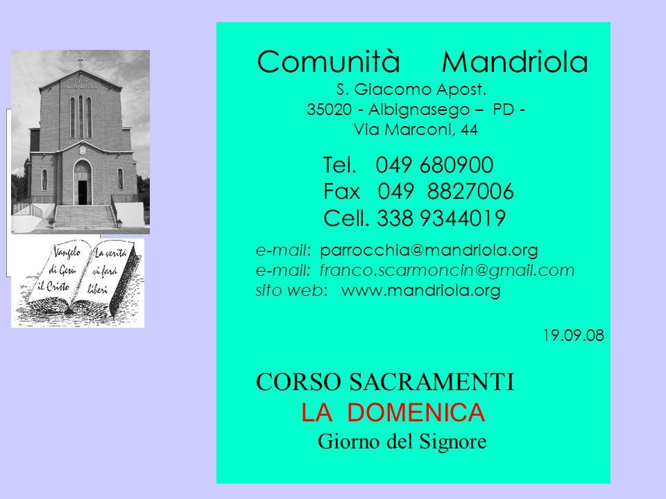 CORSO SACRAMENTI Tel. 049 680900 Fax 049 8827006 Cell. 338 9344019