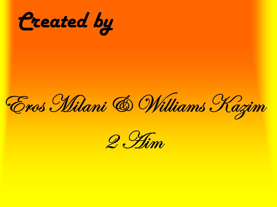 Eros Milani & Williams Kazim 2 Aim