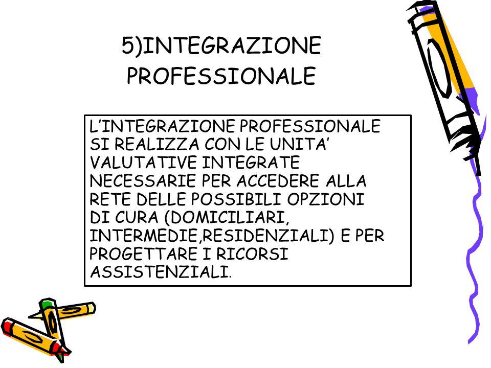 5)INTEGRAZIONE PROFESSIONALE