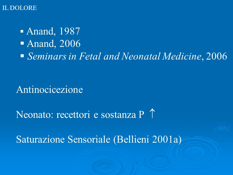 Seminars in Fetal and Neonatal Medicine, 2006
