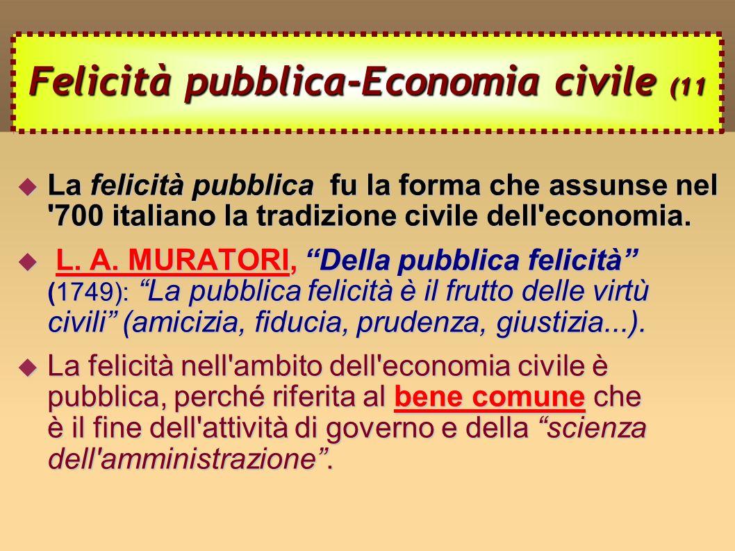 Felicità pubblica-Economia civile (11