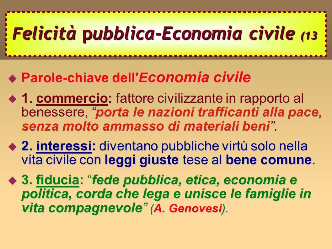 Felicità pubblica-Economia civile (13