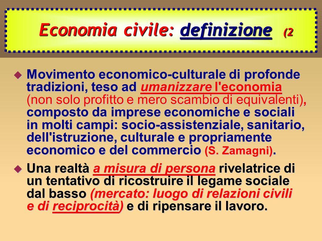 Economia civile: definizione (2