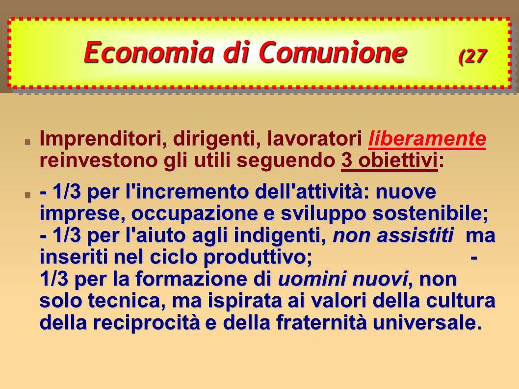 Economia di Comunione (27