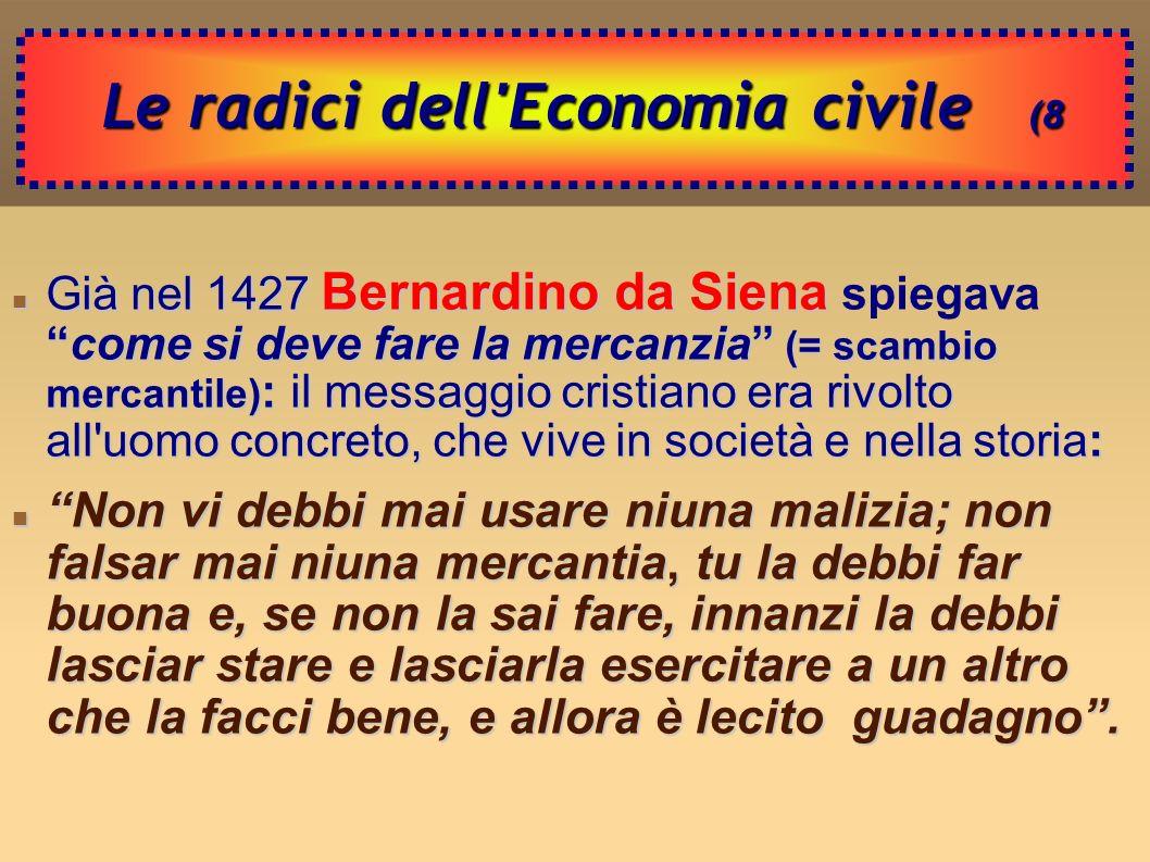 Le radici dell Economia civile (8