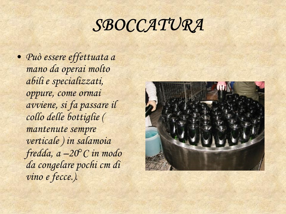 SBOCCATURA