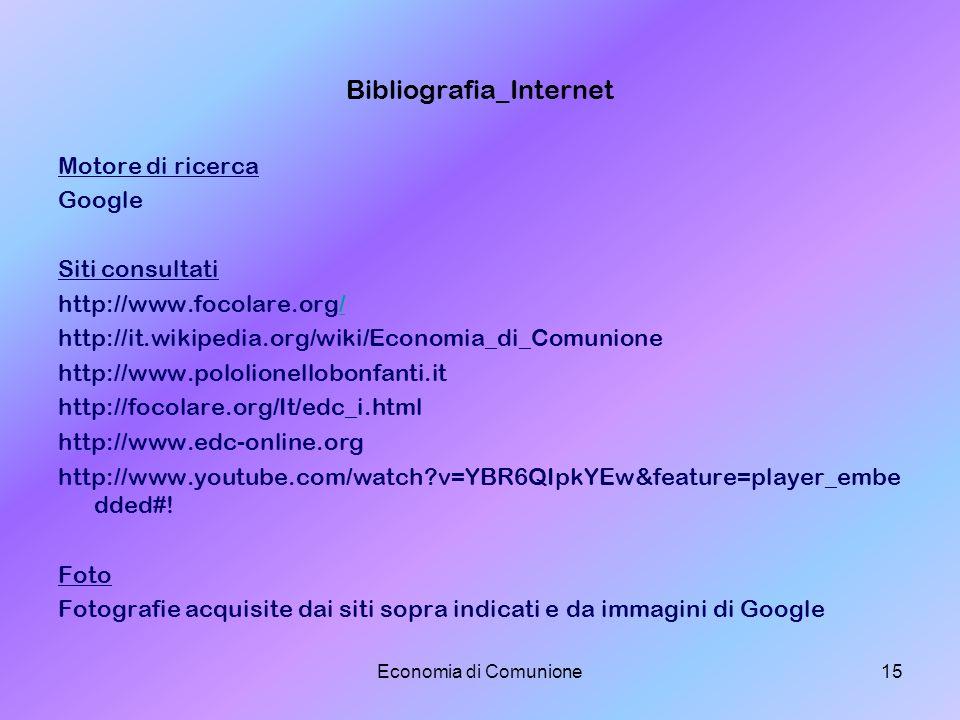Bibliografia_Internet