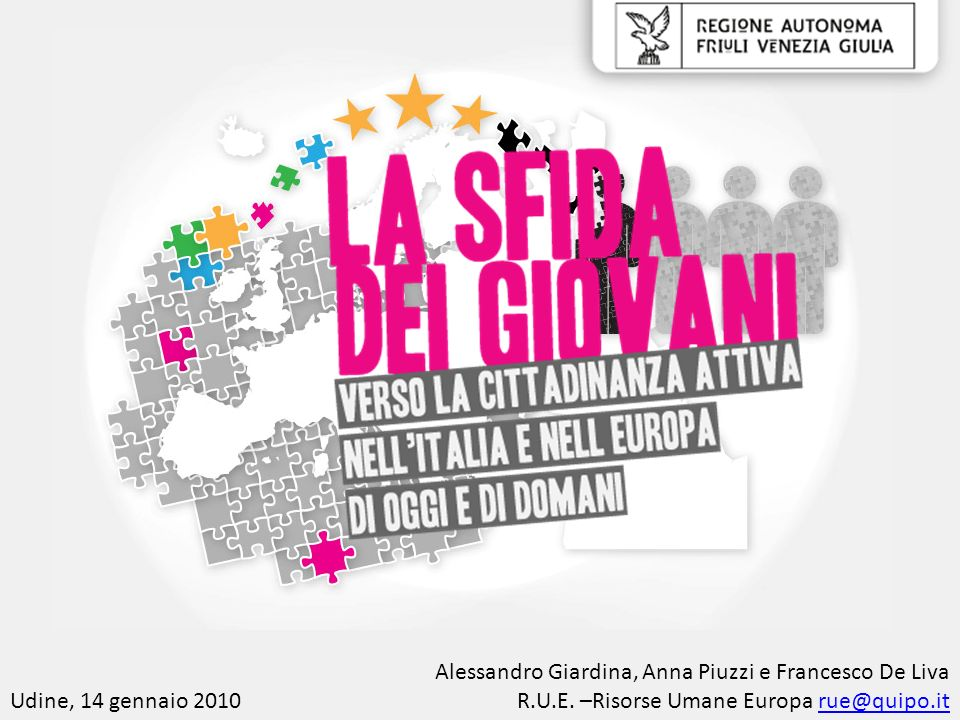 Alessandro Giardina, Anna Piuzzi e Francesco De Liva
