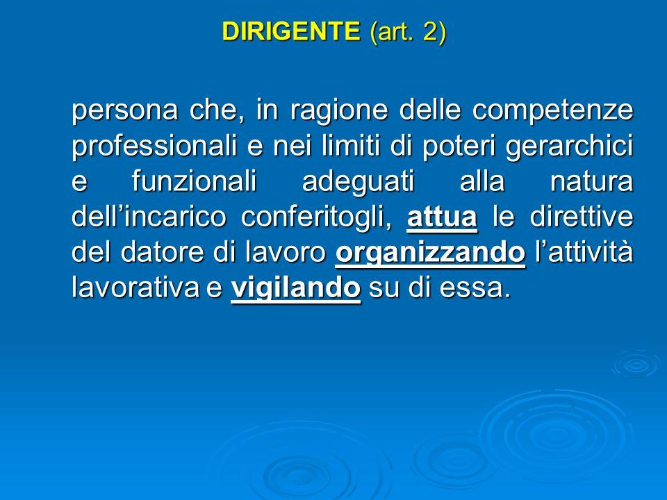 DIRIGENTE (art. 2)