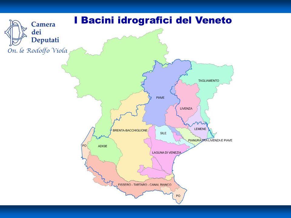I Bacini idrografici del Veneto