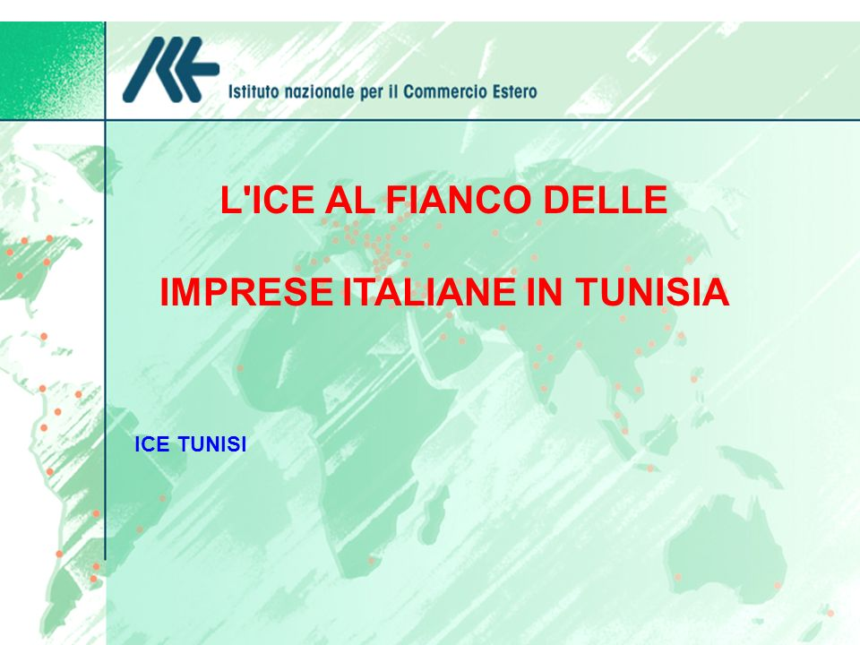 IMPRESE ITALIANE IN TUNISIA