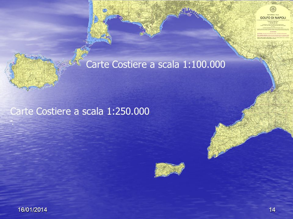 Carte Costiere a scala 1: