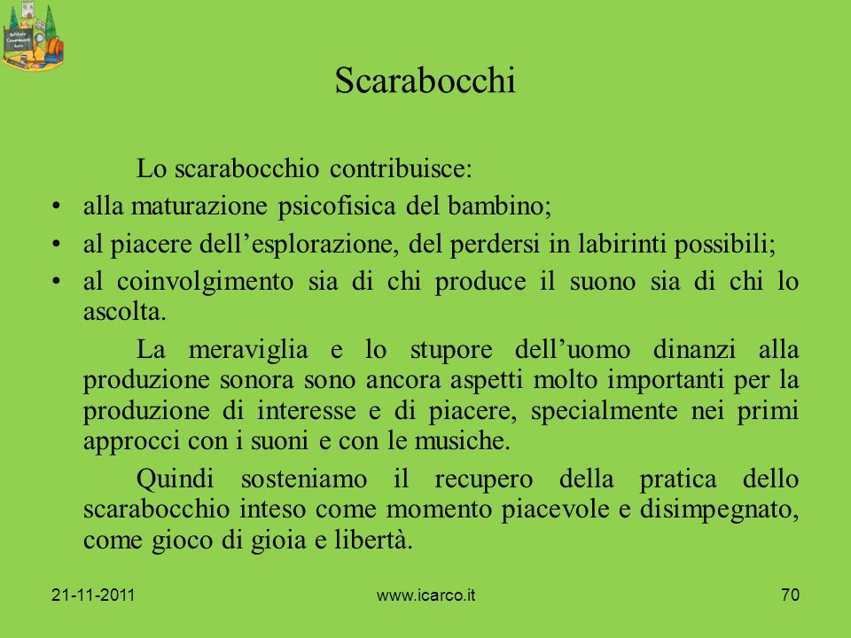 Scarabocchi Lo scarabocchio contribuisce: