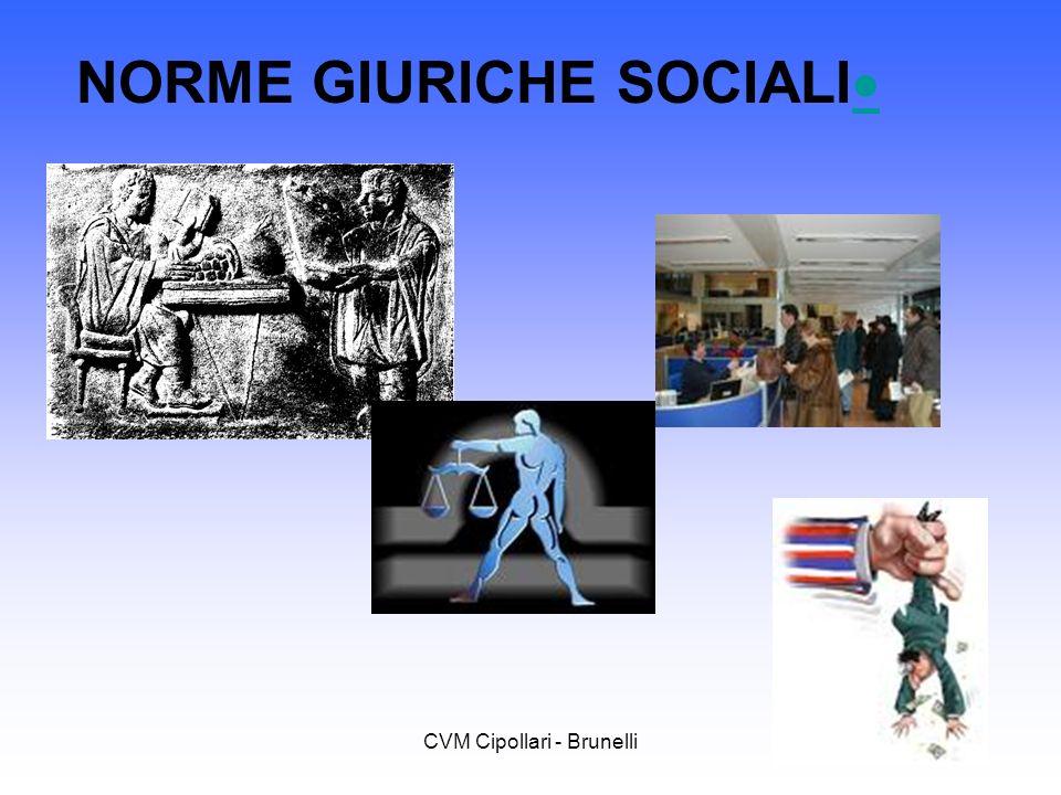 NORME GIURICHE SOCIALI