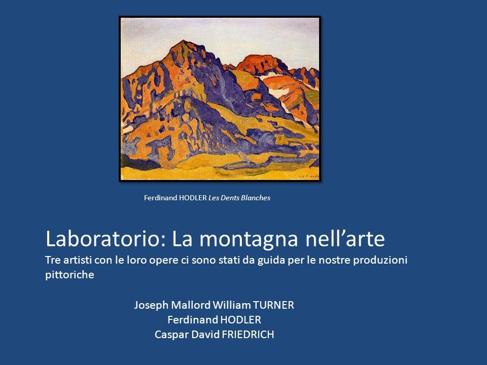 Laboratorio: La montagna nell'arte
