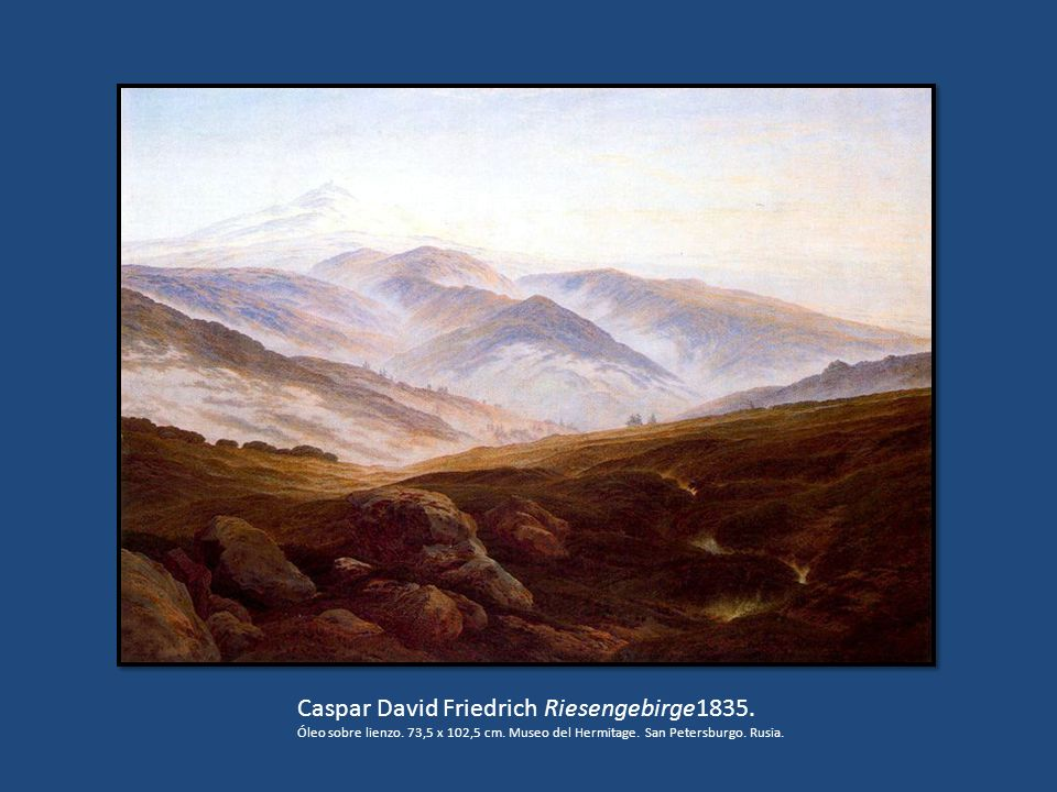 Caspar David Friedrich Riesengebirge1835.