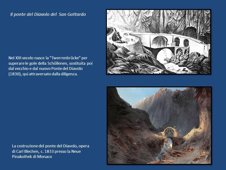 Il ponte del Diavolo del San Gottardo