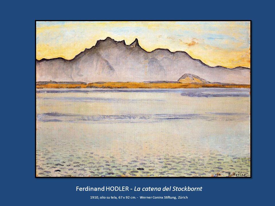 Ferdinand HODLER - La catena del Stockbornt