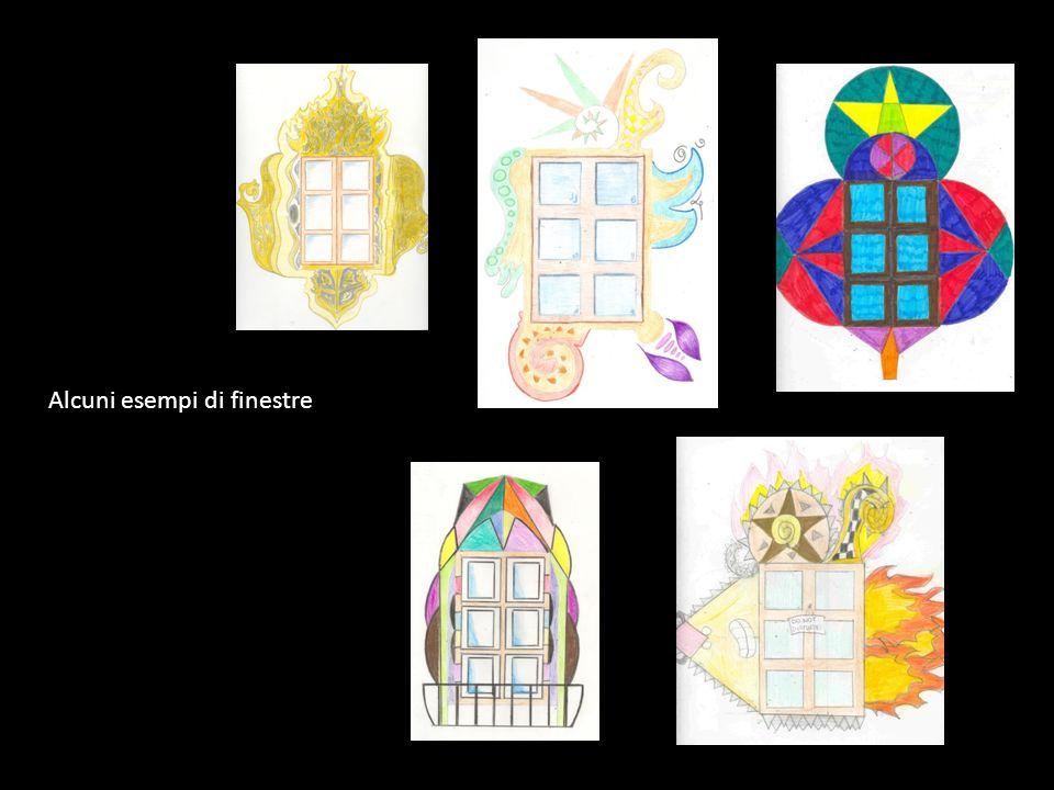 Alcuni esempi di finestre
