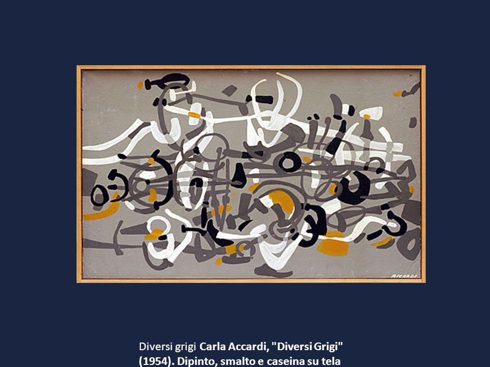 Diversi grigi Carla Accardi, Diversi Grigi (1954)