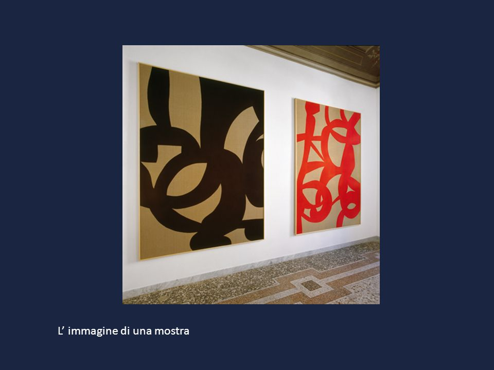 L' immagine di una mostra