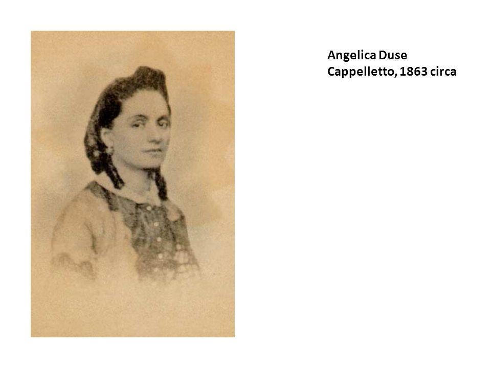 Angelica Duse Cappelletto, 1863 circa