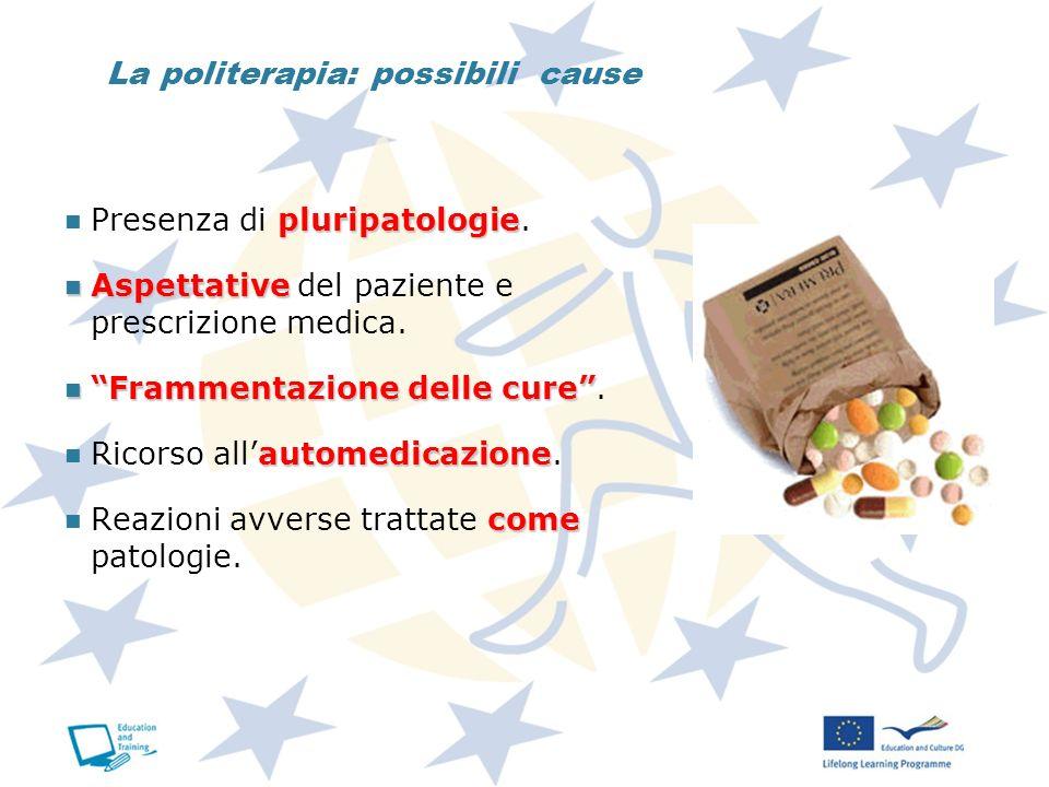 La politerapia: possibili cause